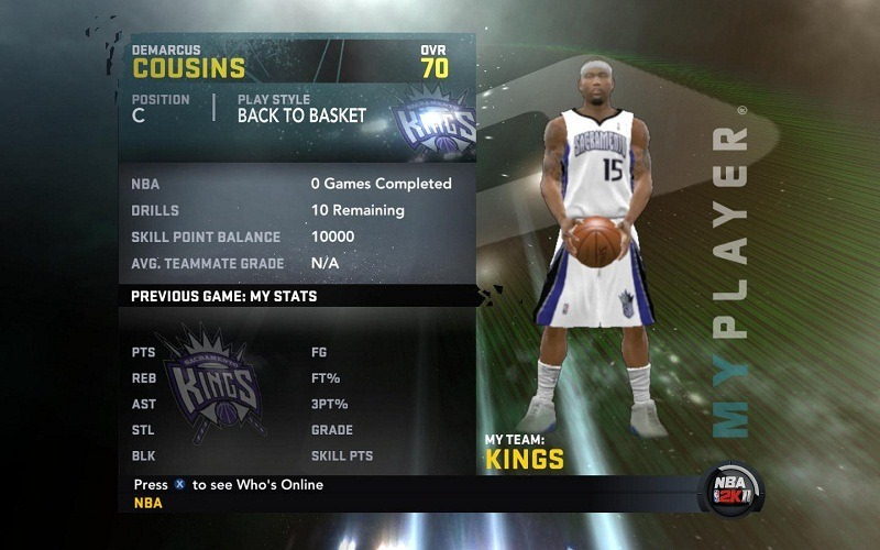 DeMacur Cousins My Player Patches for NBA 2K11
