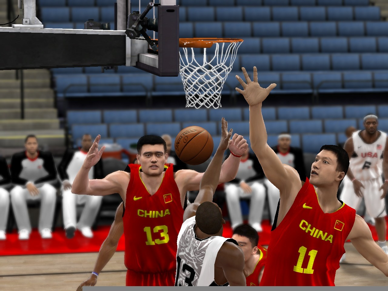 FIBA Mod 2K10 Beta China & USA