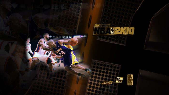 30+ Golden Startup Screens for NBA 2K10