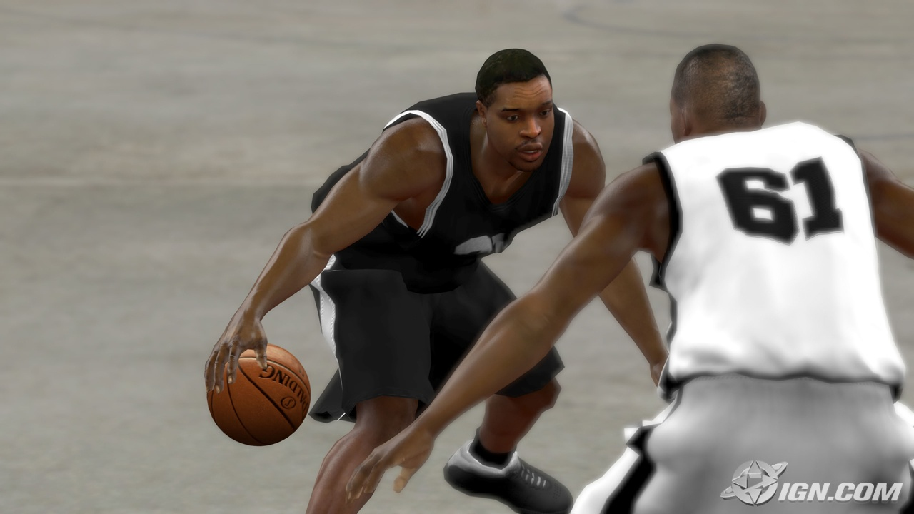NBA 2K10 Blacktop Screenshots (PS3)