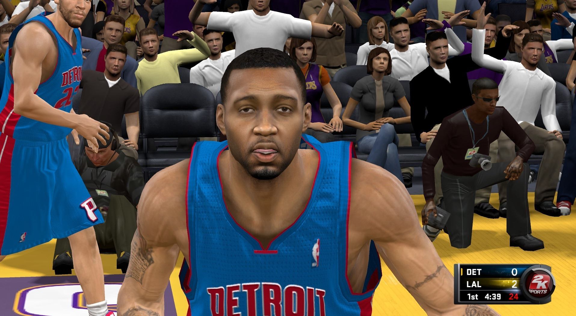 NBA 2K11 Tracy McGrady face patches